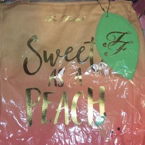 Too faced tote bag